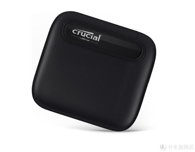 英睿达发布Crucial X6便携移动固态硬盘,小巧耐用、USB-C通吃全平台