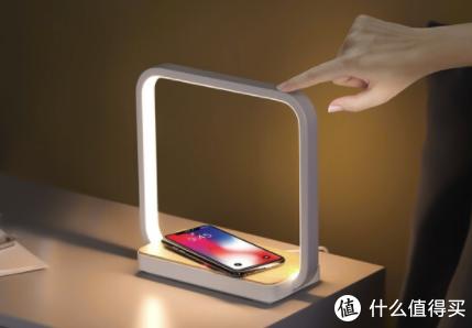 几光无线智能床头灯上新:给手机充电的床头灯 169元包邮