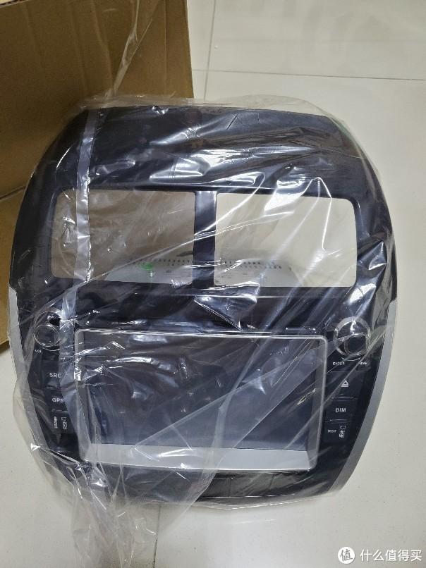 闲鱼139元淘的全新车载导航倒车影像DVD一体机 开箱