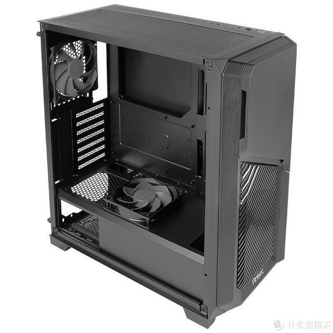 """安钛克推出DP502 FLUX""""守护者""""机箱,主打通风、多路水冷扩展,还集成5.25英寸仓位"""