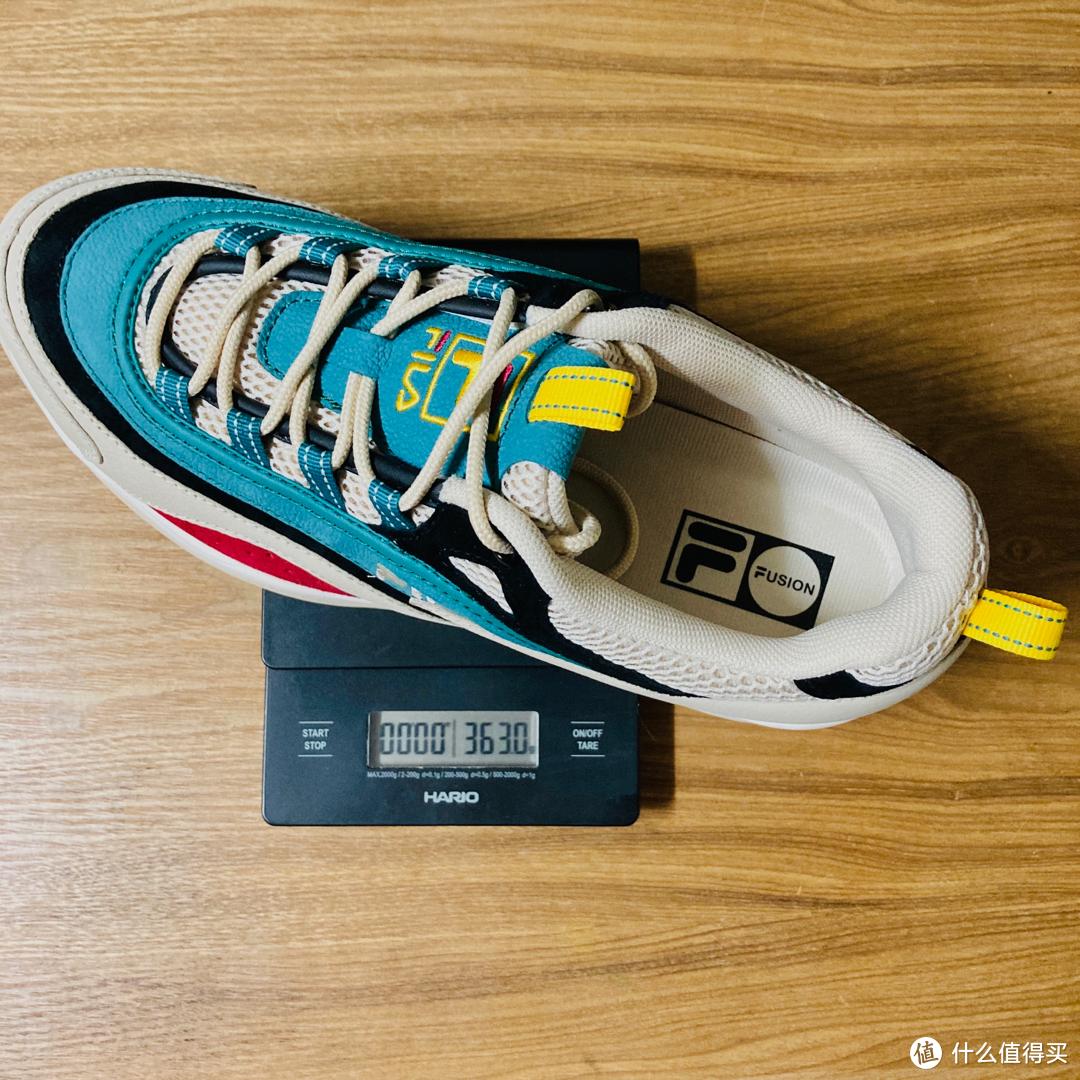 FILA FUSION 斐乐2020新款男鞋开箱分享