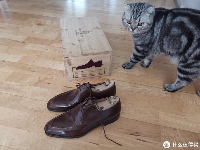 这是我开过最高级的鞋盒:stefano bemer方头德比开箱