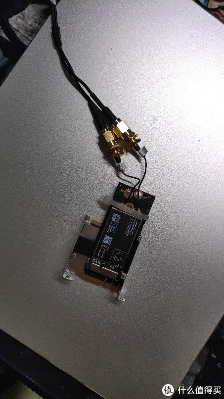 华硕B360i更换苹果拆机网卡bcm94360CS2