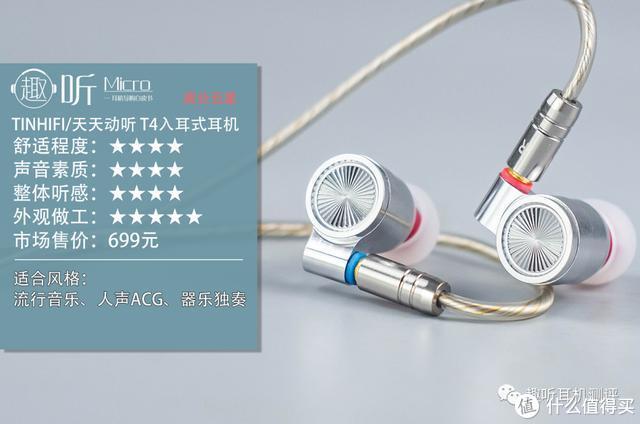 不偏科的好学生:TINHIFI/天天动听T4入耳式耳机测评
