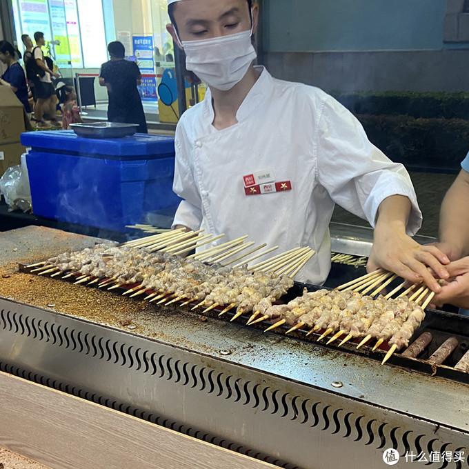 西贝莜面村——烤羊肉串