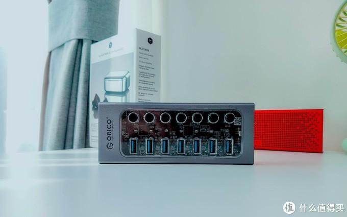 工业级性能+消费级颜值,奥睿科工业级USB3.0集线器评测: