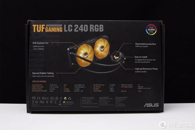 TUF GAMING LC 240 RGB 水冷开箱分享