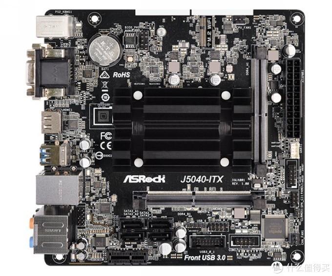 HTPC、轻量办公惬意之选:华擎发布J5040-ITX小板,无风扇0噪音