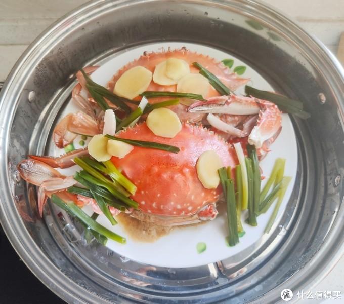 金秋菊黄蟹正肥--记周末的居家梭子蟹大餐