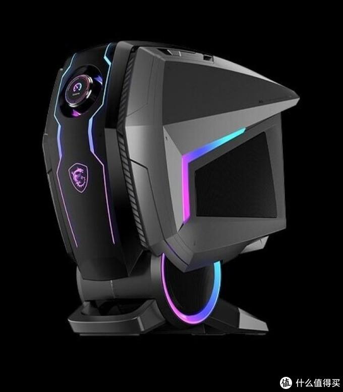 搭最新RTX 3080显卡:微星发布新款MEG Aegis Ti5宙斯盾游戏主机,旋钮控制中枢、AI降噪