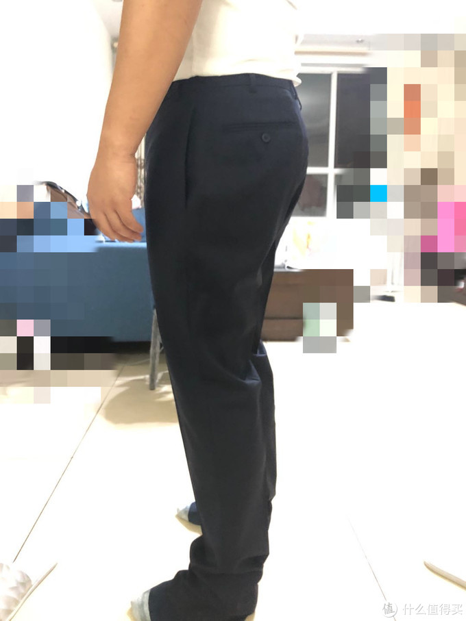 裤子完全没有型,可惜不让挑