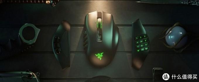 "Razer雷蛇发布Naga Pro""那伽梵蛇""专业版无线鼠标,采用HyperSpeed无线技术、Focus+20K DPI光学传感器"