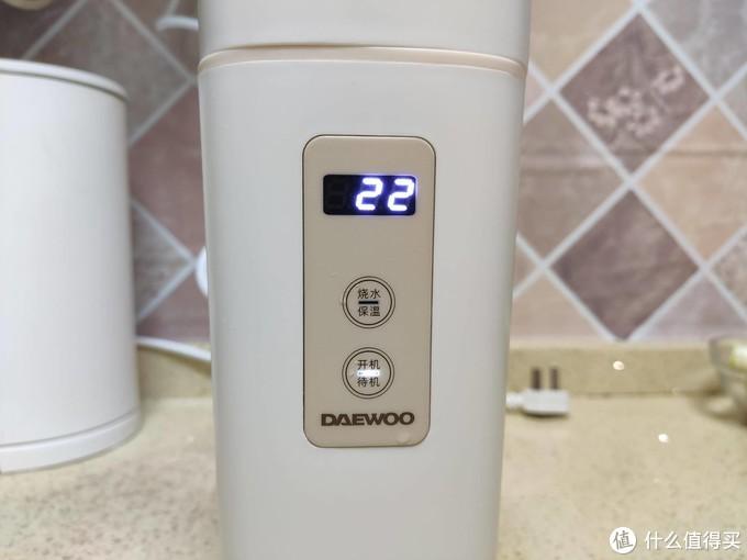 健康随行,冷暖尽在掌握!大宇便携式旅行电热水壶体验