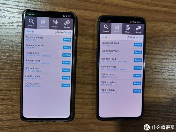 (左为Redmi K30至尊纪念版,右为realme 真我X7 Pro)