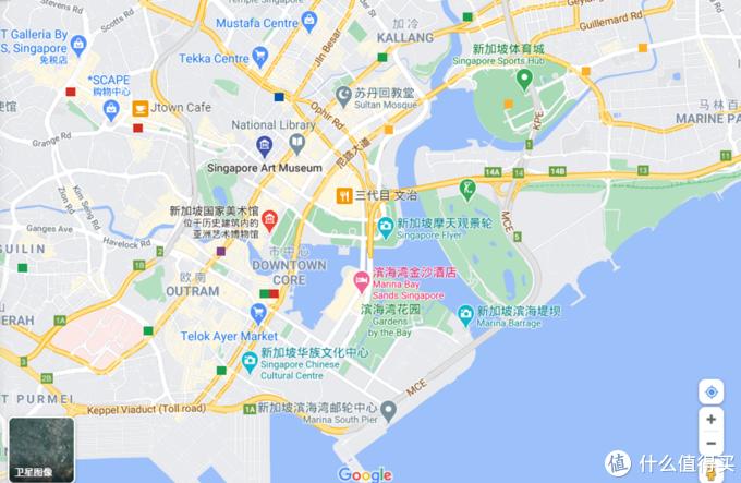 市中心位置