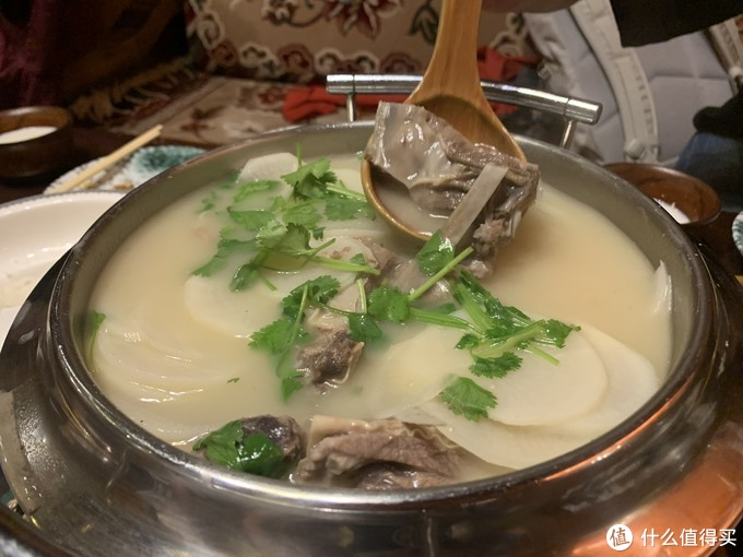 奶白奶白的汤很好喝啊~