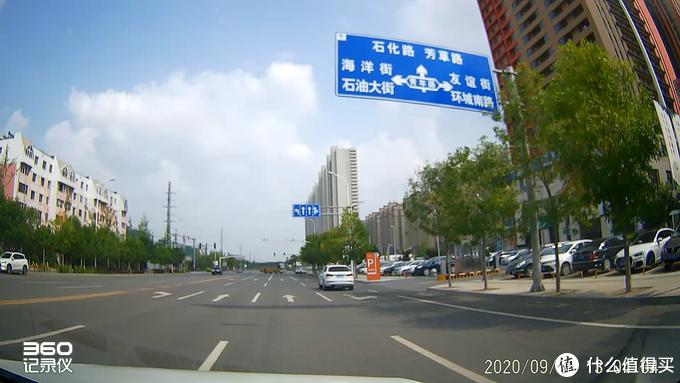 前摄像头画面截图(GPS速度显示关)
