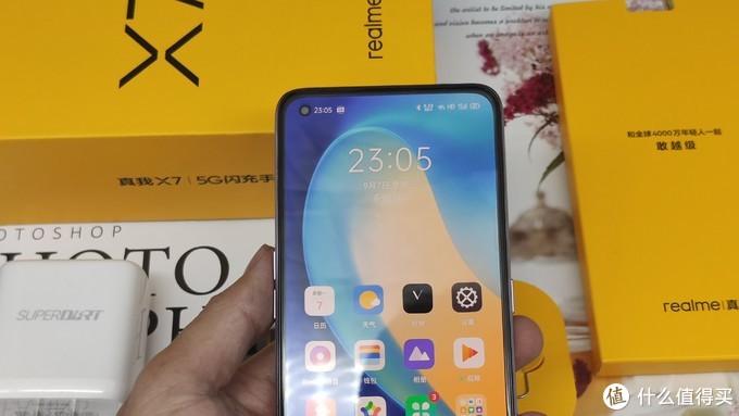 """看看千元5G快充手机realmeX7光鲜外表下""""内涵""""美否?"""