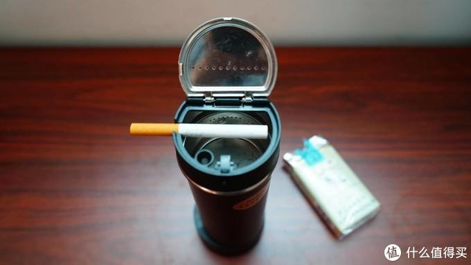 给香烟安个家?钟情车载智能无烟烟灰缸展示