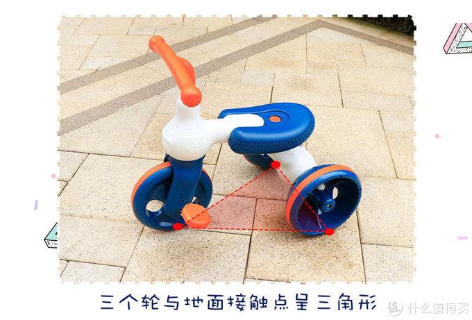 遛娃神器!蒂爱新款三轮脚踏车测评
