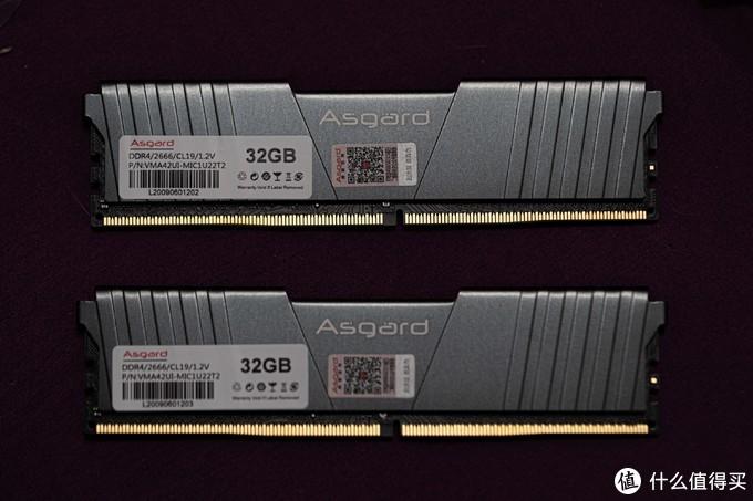 499的阿斯加特单条32G 2666 双面变单面 从此再无真香条?