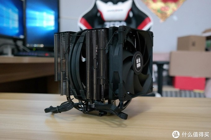 利民FS140 BLACK双塔CPU散热器评测!有颜值性能不打折