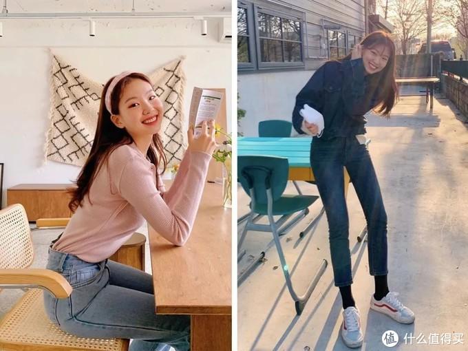 """极简的少女感最时髦!韩国小姐姐的""""减龄早秋穿搭"""",分分钟都是小心机!"""