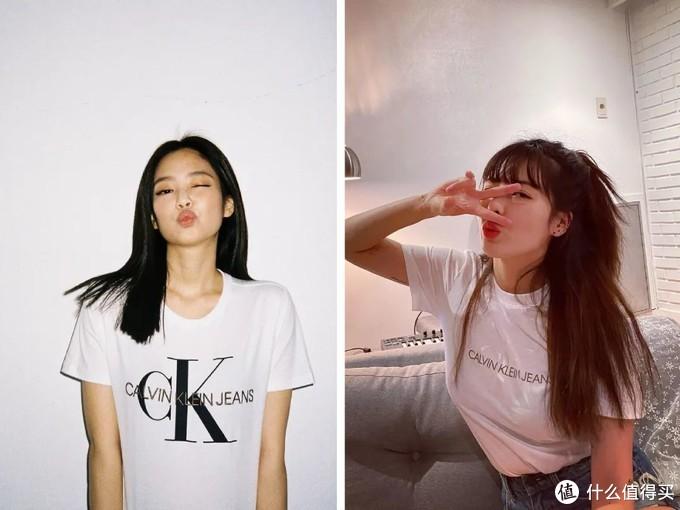 今年火了一件T恤,叫字母T,减龄又个性,Jennie、泫雅早就穿上了!