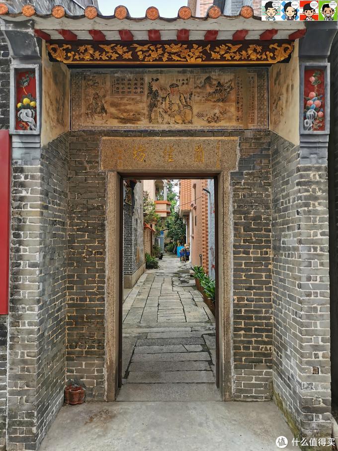青砖墙壁,麻石门框,古色古香。据说,香港的兰桂坊名字就是源自这里~