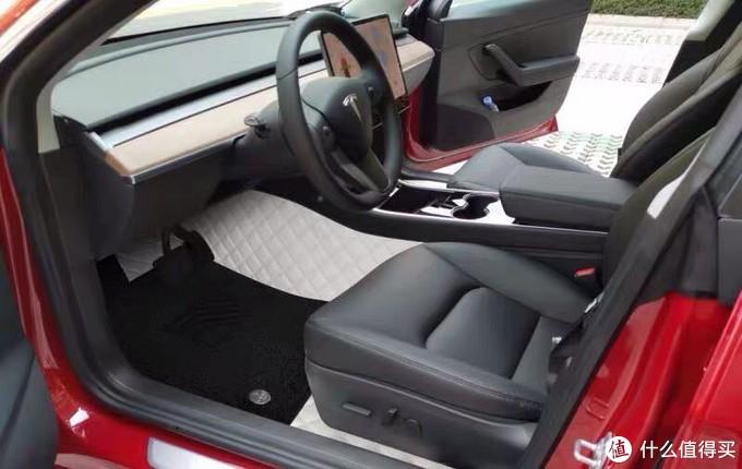 特友在哪里,特斯拉model3,毛豆3,汽车内饰和360航空软包脚垫分享!