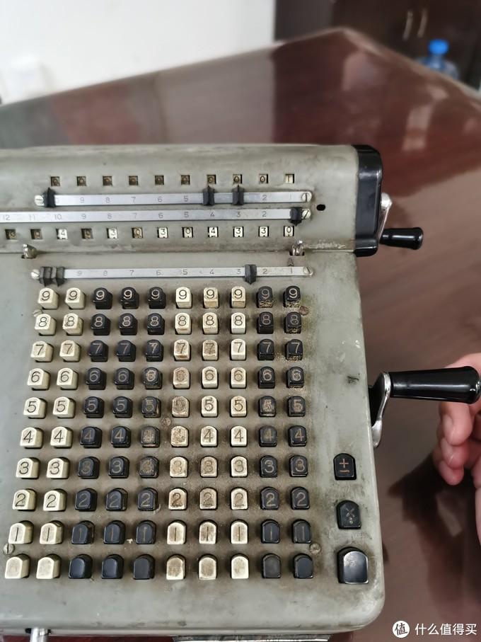 奇葩物——JSY-20飞鱼牌机械计算器晒单
