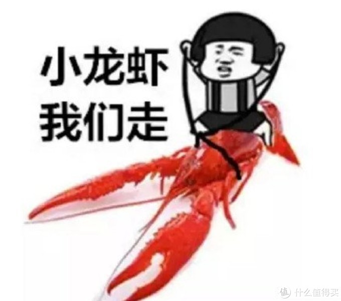 二斤的龙虾端上来啦~怎么能说自己没有呢~必须安排~