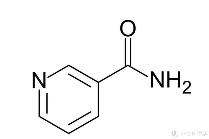 烟酰胺结构式(图片引自网络)