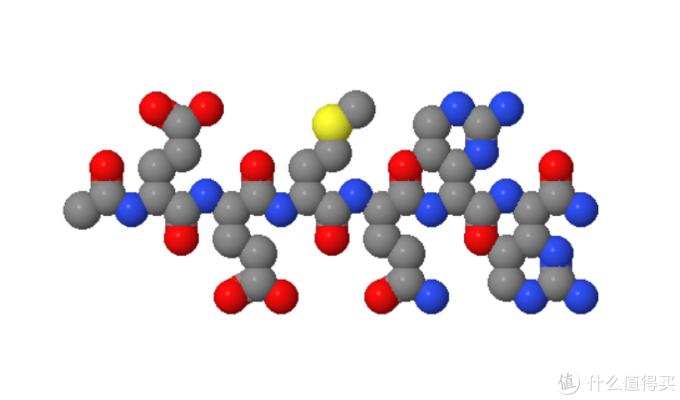 六胜肽结构式(图片引自网络)