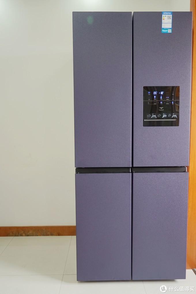 极度保鲜--海信真空休眠452L十字对开门冰箱(BCD-452WMK1DPQ)晒单