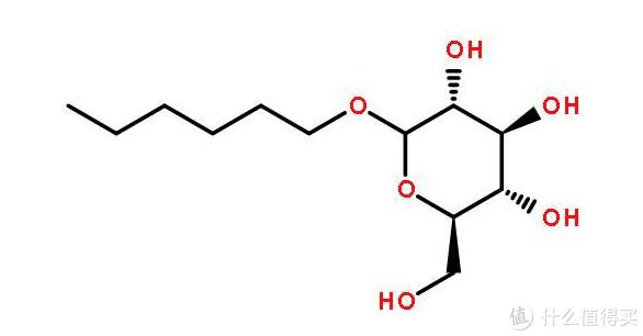 烷基糖苷结构式(图片引自网络)