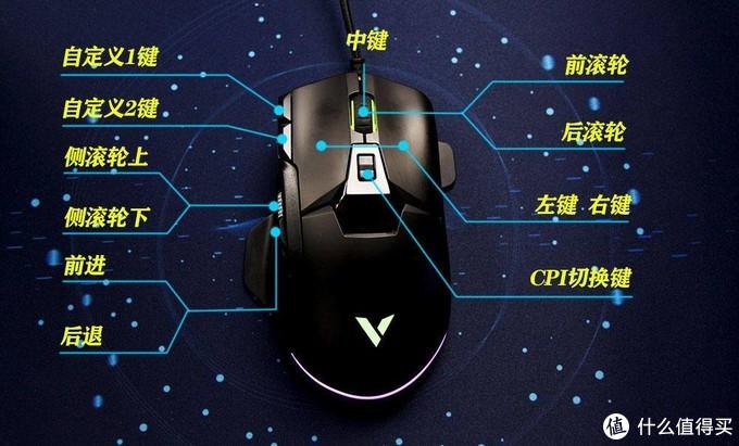 一款随心所欲的高效鼠标-雷柏V330