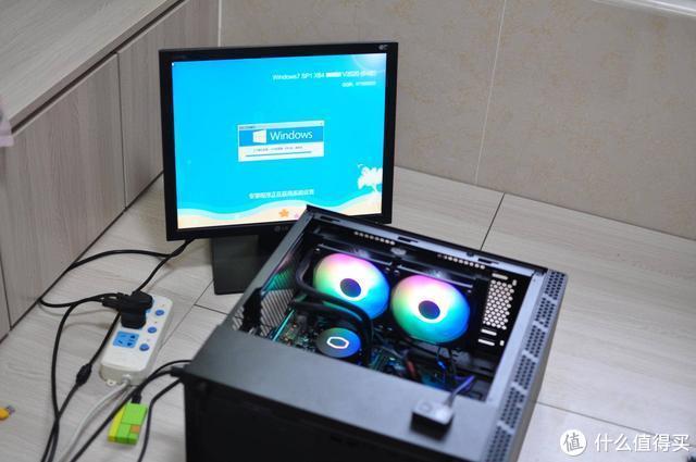 全靠图纸和客服加度娘,小白也能装电脑