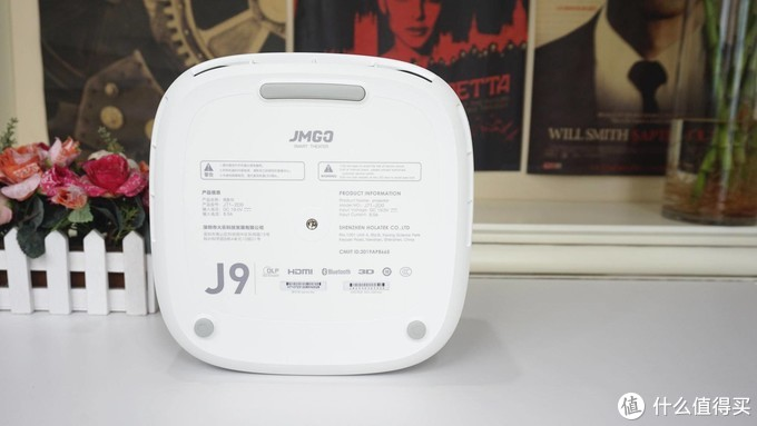 家用投影一站式解决方案,100吋大屏音响都省了,坚果 J9 智能投影仪评测报告