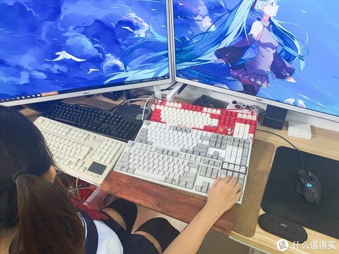这是我桌面9.0在她那边