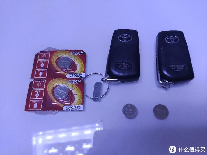 猫2自己动手给老RAV4换遥控钥匙电池的经历。