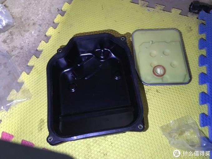 新买的油底壳和滤芯