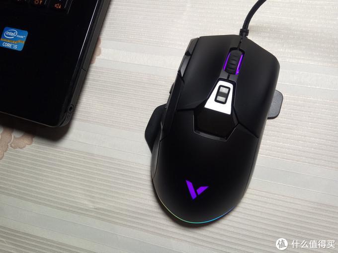 性能好的百元外设,雷柏V330幻彩RGB游戏鼠标体验