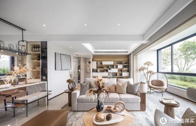 上海小夫妻的77㎡之家,全屋开放式布局,小房子居然住出了豪宅感