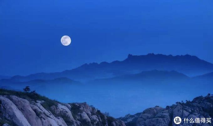 五莲山中秋月正明