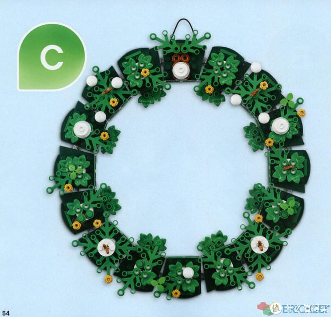 节日装饰必备!乐高新品40426圣诞花环开箱评测