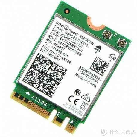 惠普HP8570W minipcie无线网卡接口改装m.2网卡Inte