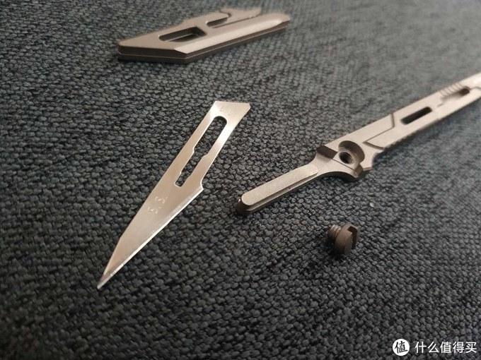 是把玩佳品、是礼品、是藏品:奈特科尔NTK07钛合金小刀