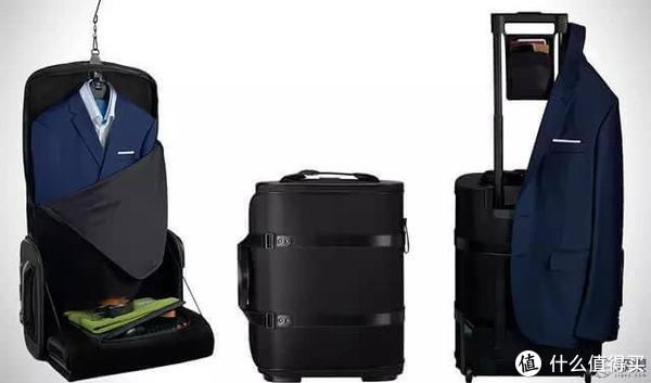 西装装进行李箱