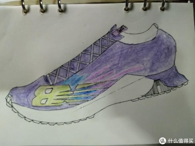 画的没有鞋好看。